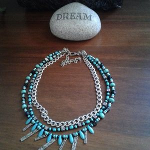 Jewelry turquoise necklace